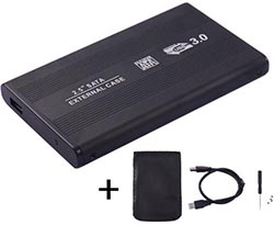 "USB 3.0 BOX for 2,5"" HDD SATA (metall)"